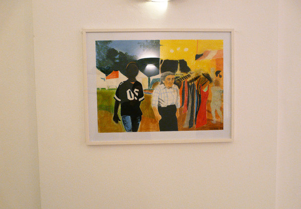 "Projections 2010, Anne Suttner ""Frau Bock"""