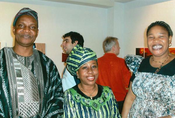 foreign affairs-arts alliances Austria - Nigeria, die Ausstellung