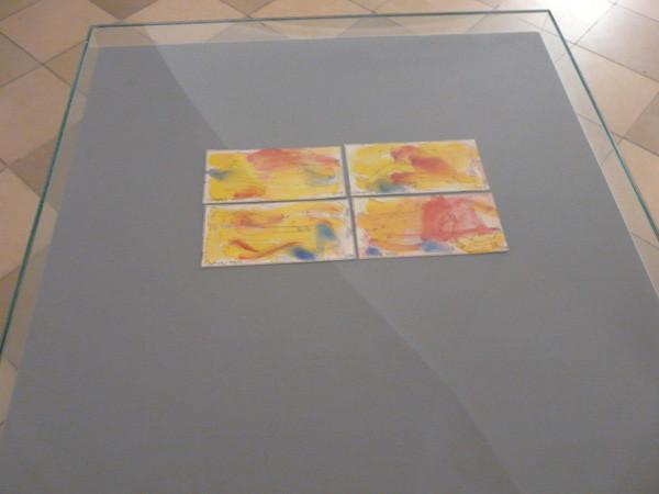 Projektionen 2010, Clemens Weiss, 4 Zeichnungen