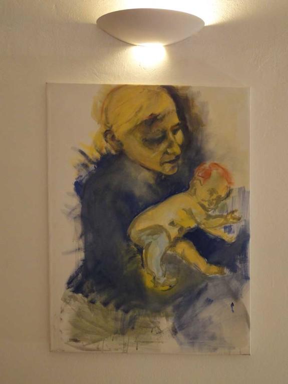"BIG PROJECT, The Exhibition, Maria Wetter "" Wunschkind für P"""