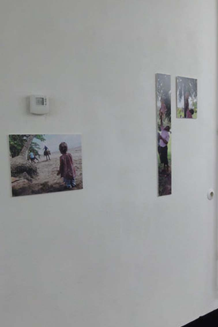 Untitled and child lifted, exhibition, ICW und Tessa Miller, 2013