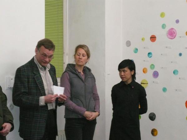 foreign affairs-arts alliances Austria - Thailand, Ausstellungseröffnung, Lucas Gehrmann, ICW, Morakot Ketklao