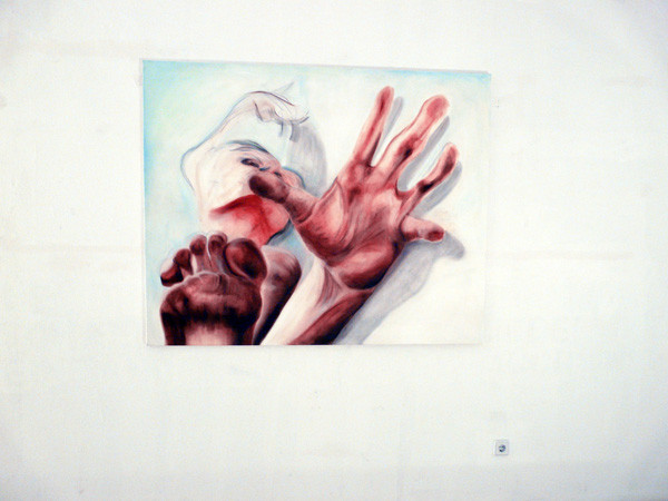 """Projections 2010, Cynthia Schwertsik """"REACHING FOR THE STARS"""" – work in progress"""