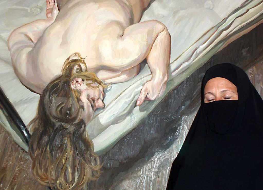 "Untitled in exhibition ""Eros"", 5.1 x 7.1 in"