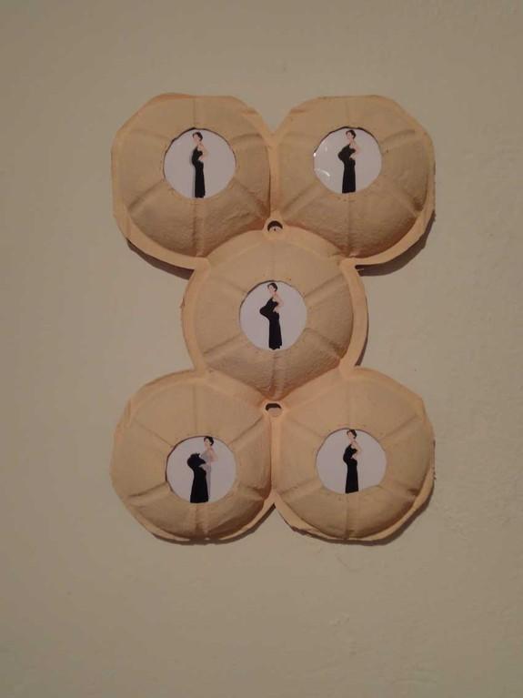 """BIG PROJECT, die Ausstellung, Brigitte Konyen """"Variations on a baby-bump"""""""