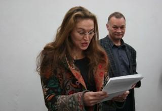 Eröffnung foreign affairs-arts alliances AUSTRIA – FIJI, Dr. Teresa Indjein und Lucas Gehrmann