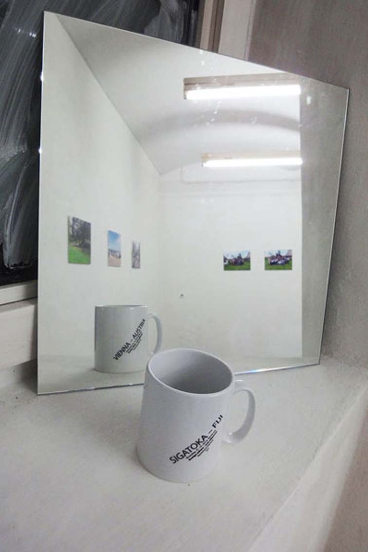 Cup-Couples–twosided, Cups with imprint, signed, AusstellungICW und Tessa Miller, 2013