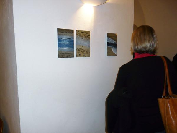 "Projections 2010, Ilse Chlan (Photograph: Elisabeth Völpel) ""para sempre"""