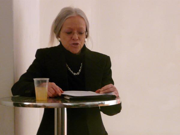 Projektionen 2010, Ausstellungseröffnung, Prof. Dr. Helga Maria Wolf, Stadtethnologin