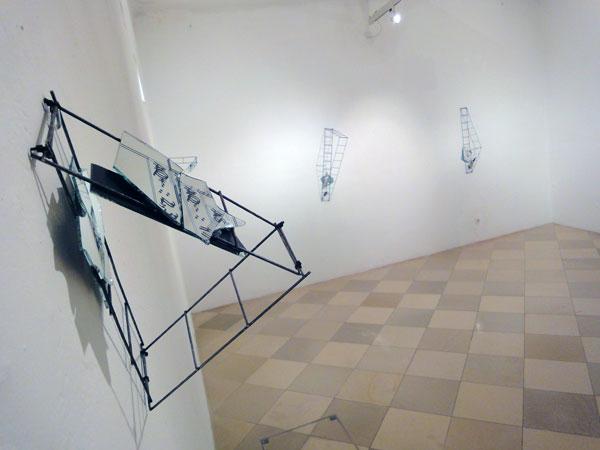 BLUTBILD.BLUT.BILD, Teil 1 im Kunstraum