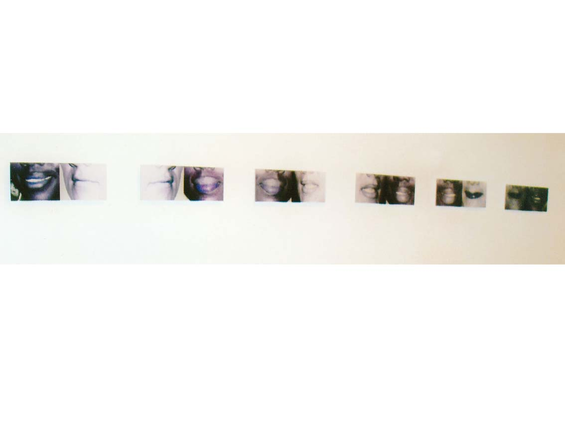 cultural exchange, C-print under acrylic, 10.2 x 3.9 in, ICW and Ndidi Dike, 2006