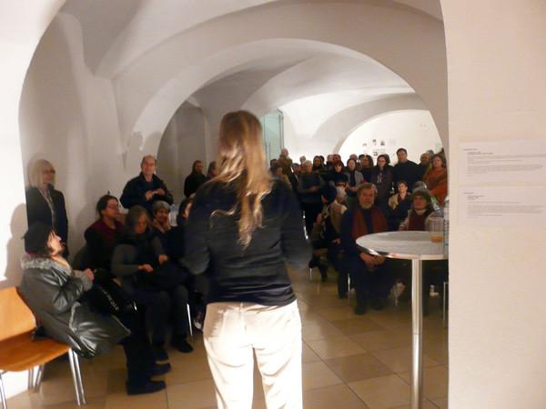 Projektionen 2010, Ausstellungseröffnung