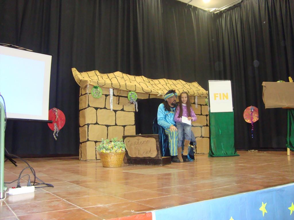 """El """"Cartero Real"""" en Mesas del Guadalora (29-12-2010)"""