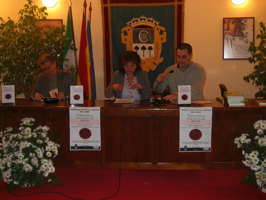 Presentación del Libro de Eugenia Moreno Aguilera en LA CARLOTA
