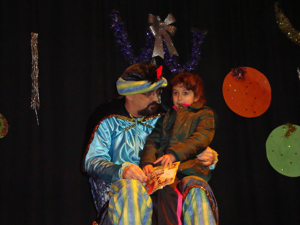 """El """"Cartero Real"""" en Mesas del Guadalora (29-12-2011)"""