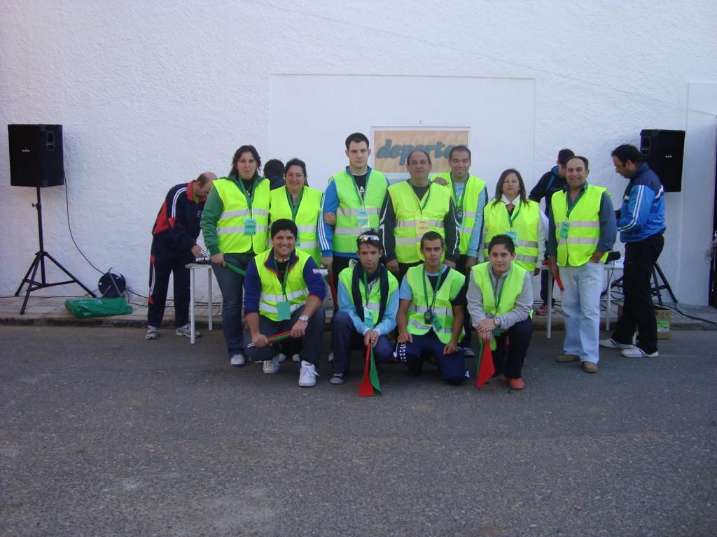 """Voluntarios de Mesas del Guadalora """"IV Marcha BTT de Hornachuelos"""""""