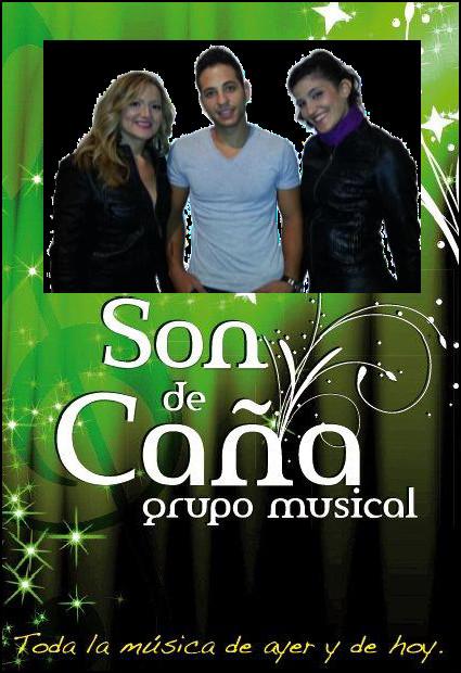 """Trío Musical """"SON DE CAÑA"""". Actuará el sábado 25 en Mesas del Guadalora. - Haz """"clic"""" en la imagen para ampliar."""