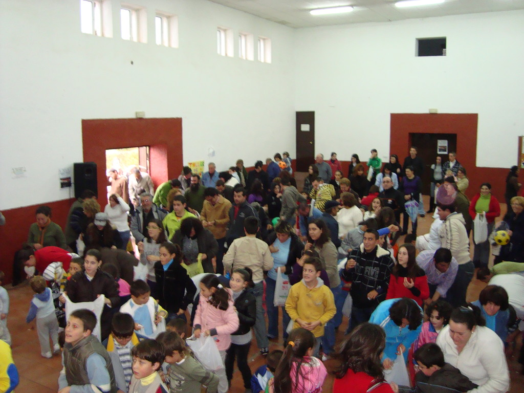 """""""Los Reyes Magos"""" en Mesas del Guadalora (06-01-2010)"""