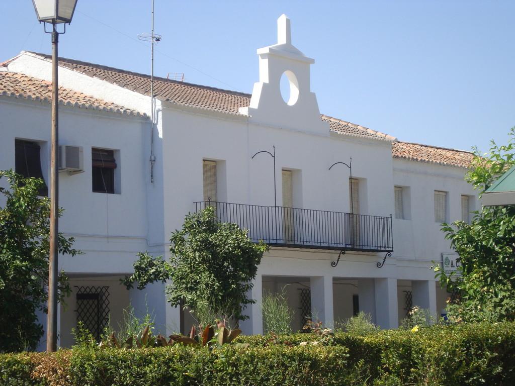 Vista central del Edificio del Ayuntamiento (año 2010)
