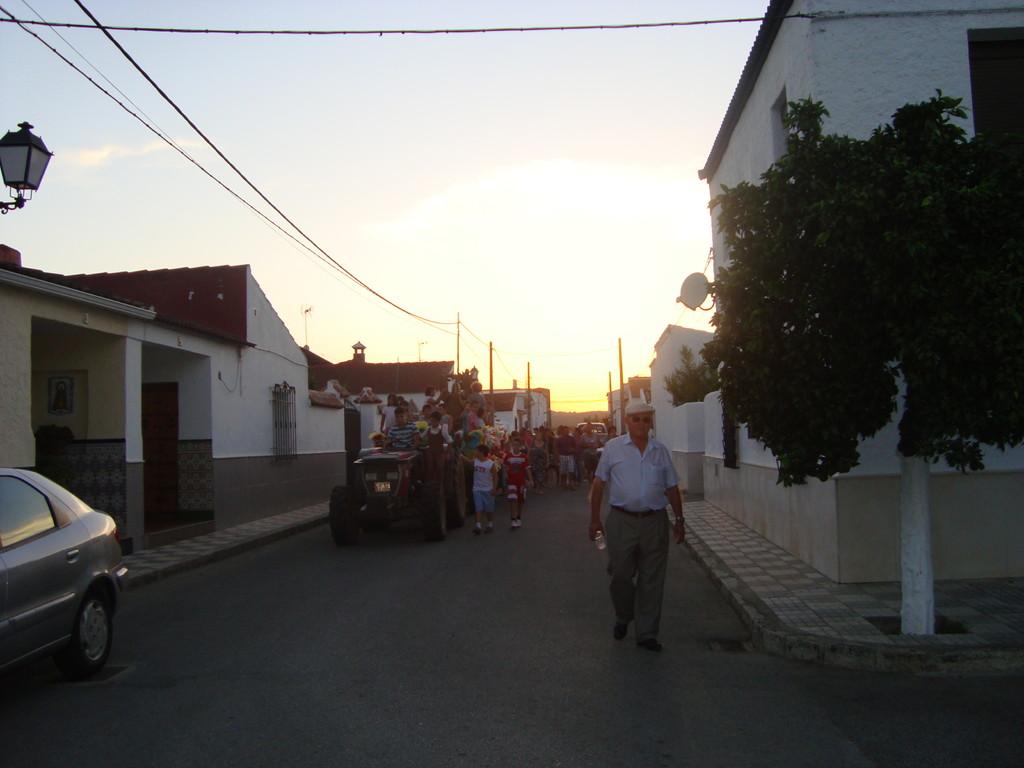 Romería de Santa María Virgen Reina por las calles del pueblo