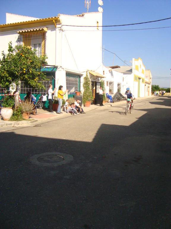"""IV Marcha BTT de Hornachuelos"" Meta de la Contrarreloj en Mesas del Guadalora"