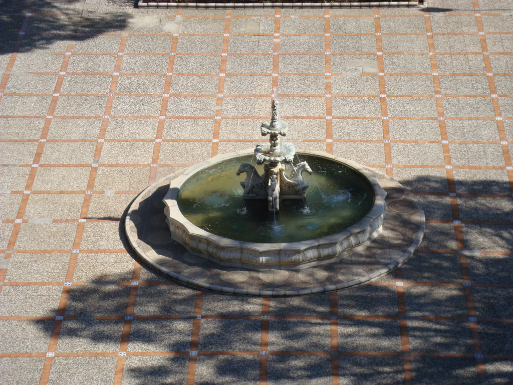 Vista desde la torre de la Fuente de la Plaza Mayor