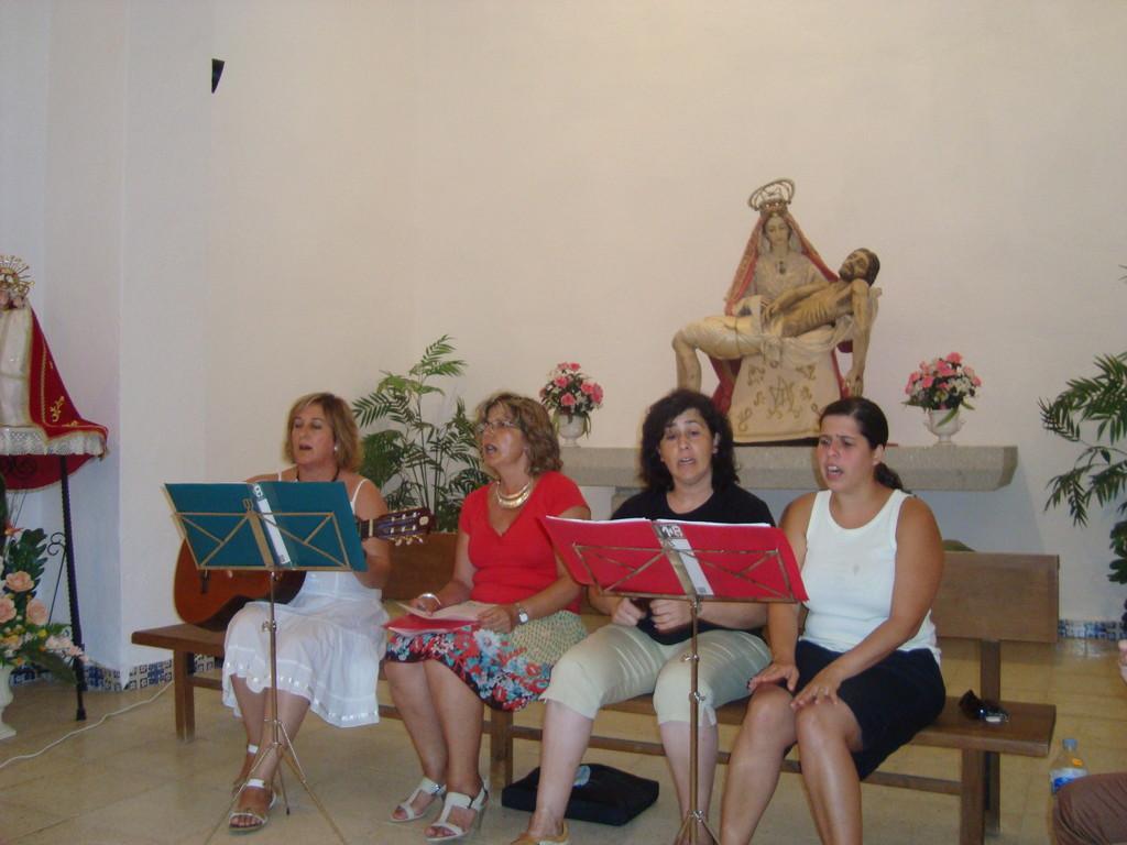"""Actuación del Coro Local """"San Isidro"""""""