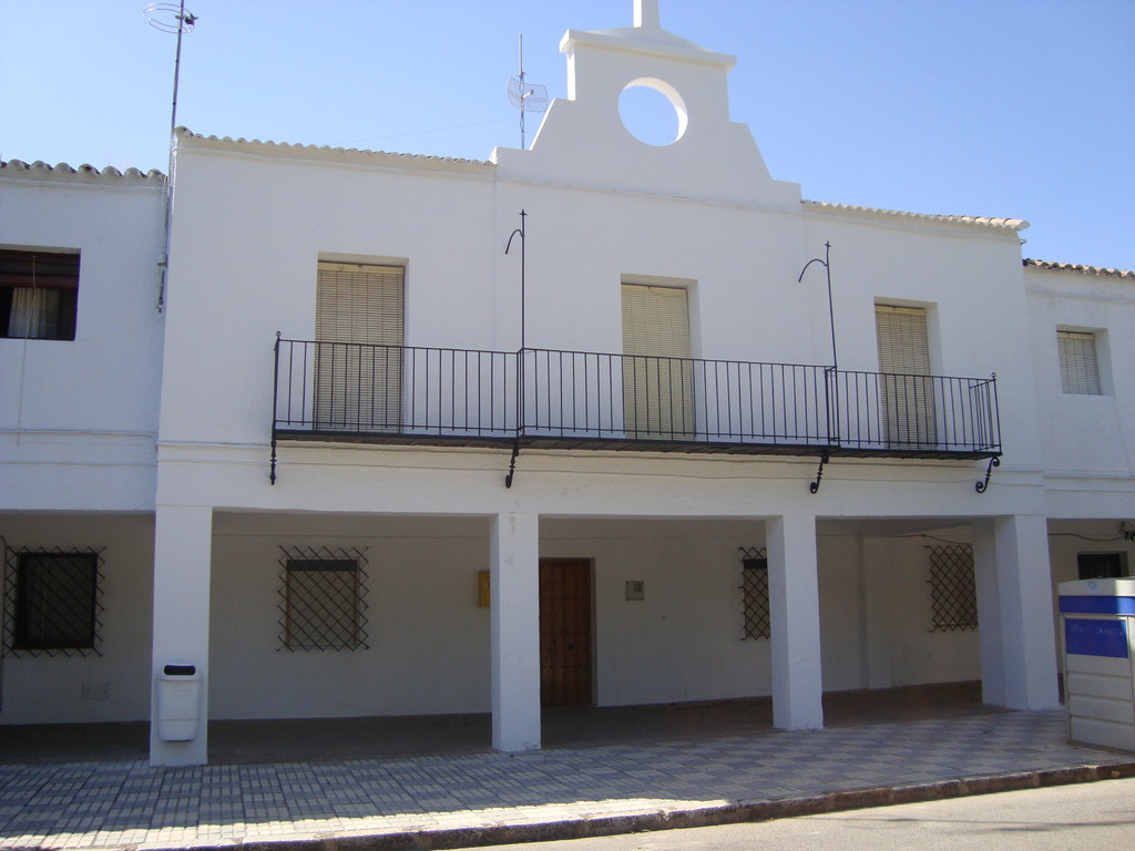 Fachada central del Edificio del Ayuntamiento (año 2010)