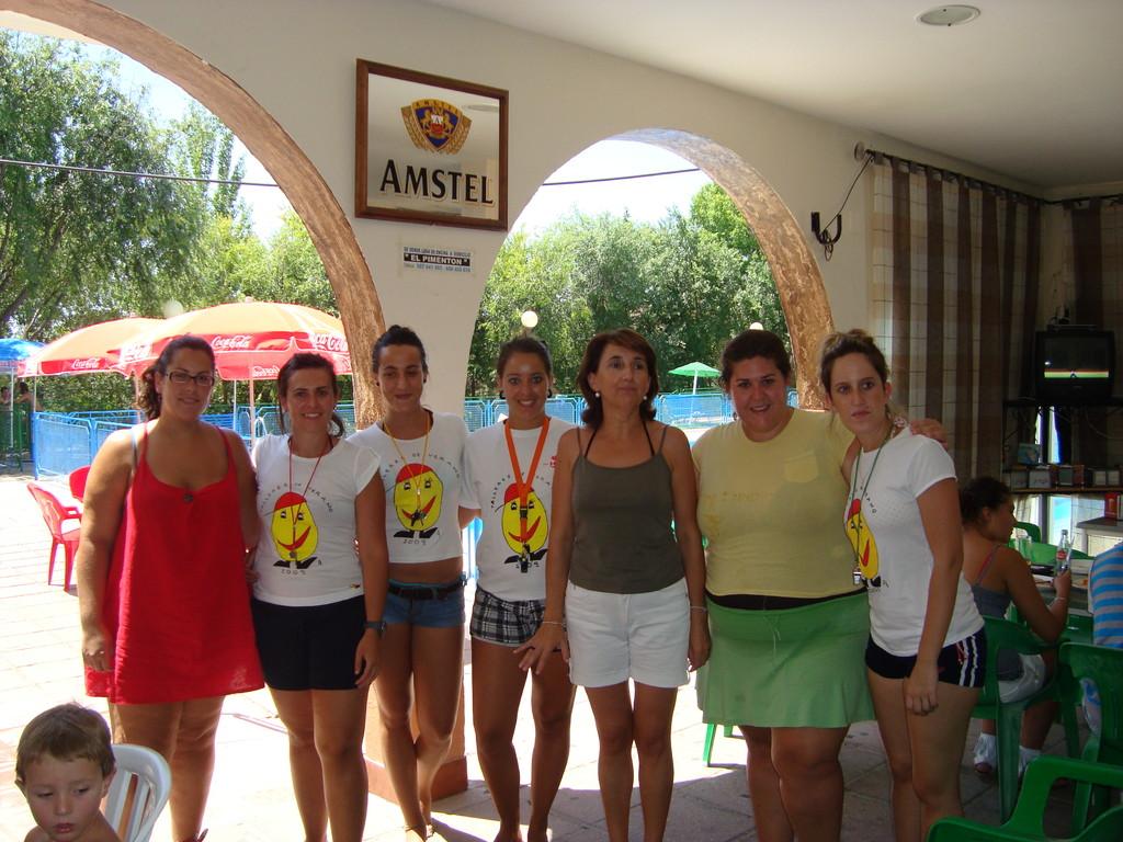 Paella de Convivencia en la Piscina y Clausura de los Talleres de Verano 2009
