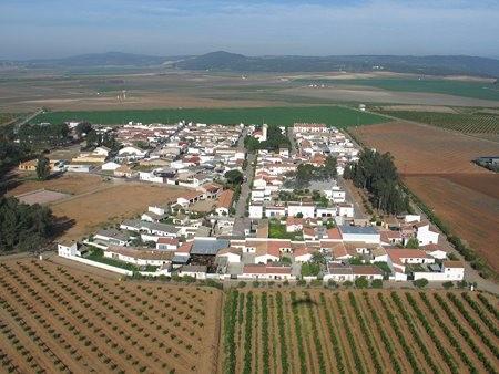 Vista aérea de Mesas del Guadalora
