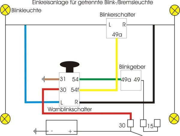 Groß Furt Blinker Schaltplan Bilder - Die Besten Elektrischen ...