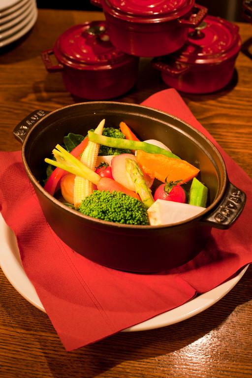 野菜のココット蒸し