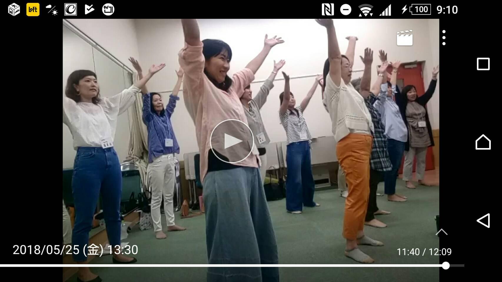 講座発表会前の熱の入ったレッスン風景 テラスモール湘南クラス
