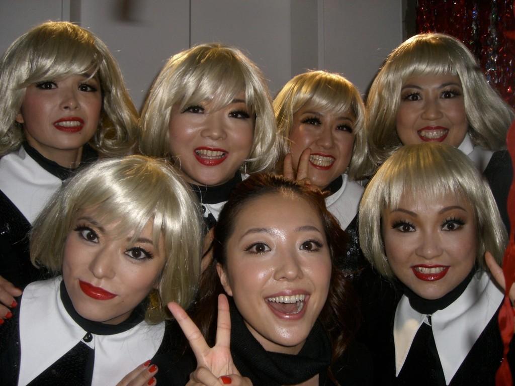ルイヴィトンのショーで平原綾香さんと共演