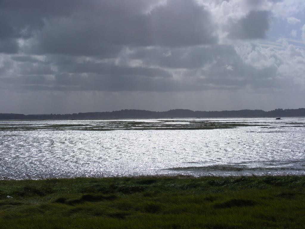 Baie de somme à maréee haute