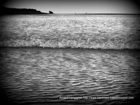 Arrivée du mascaret de la Baie de Somme © Découvrons la Baie de Somme