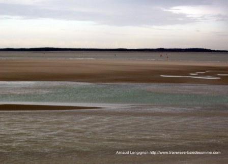 Jeux de lumières à marée montante en Baie de Somme © Découvrons la Baie de Somme