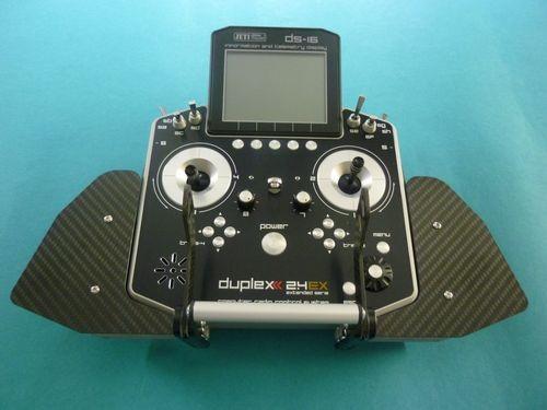 Handauflagen für Jeti DS-16/DS-14