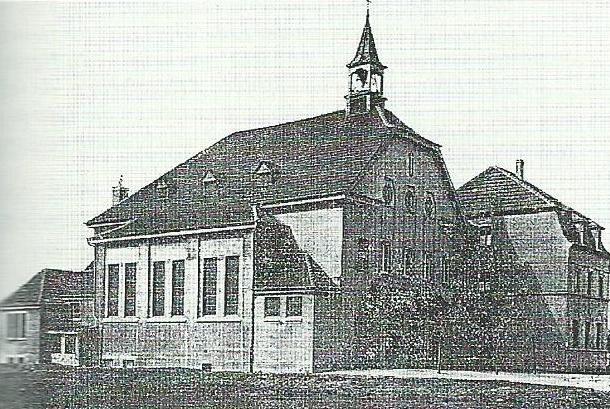 Alte Kirche von 1914 St. Suitbert, Wanheim (Foto: privat)