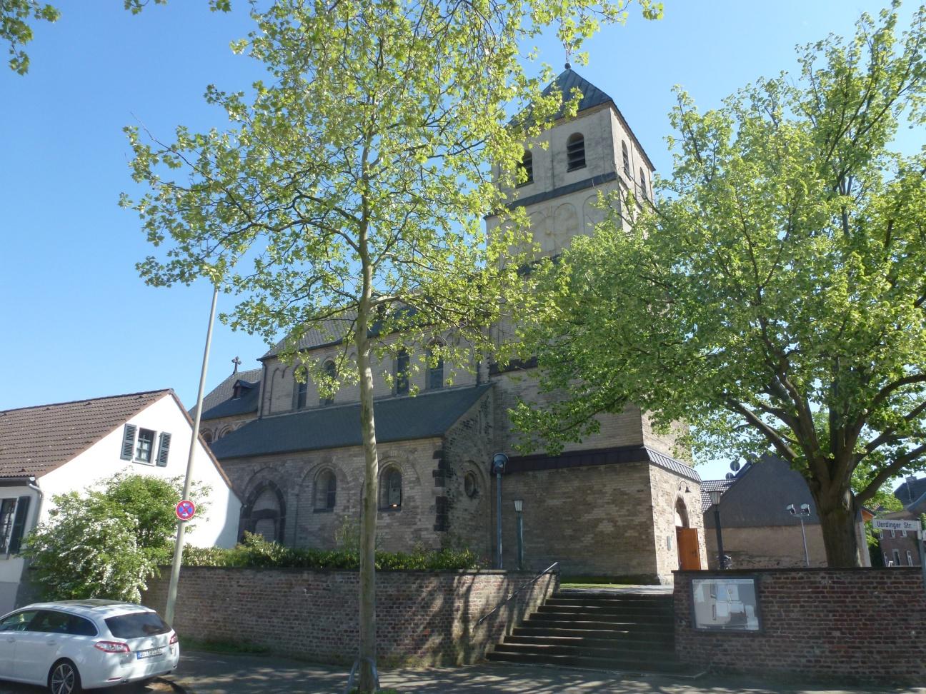 St. Dionysius, Mündelheim (© Hermann-Josef Brandt)