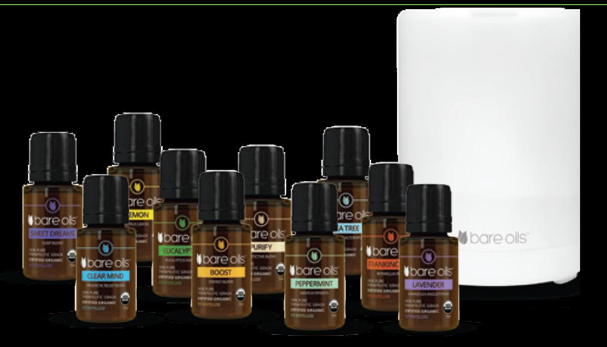 Notre nouvelle gamme d'Huiles Essentielles BARE Oils