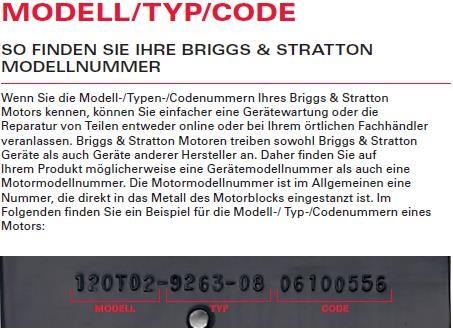 Ersatzteilelisten - Briggs & Stratton - Willkommen bei MMV Bad ...