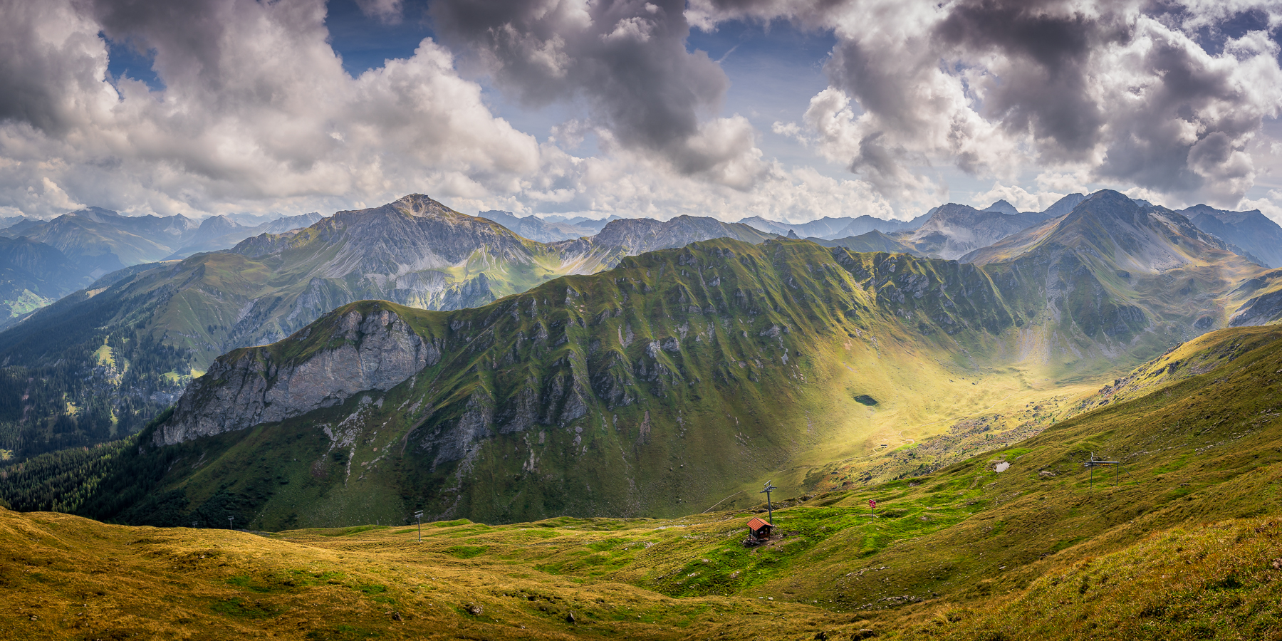 Bild Nr. 2020_7882: Graubündner Bergpanorama
