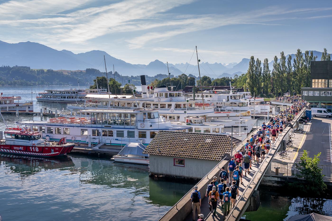 Vom See zum Berg Luzern-Stanserhorn