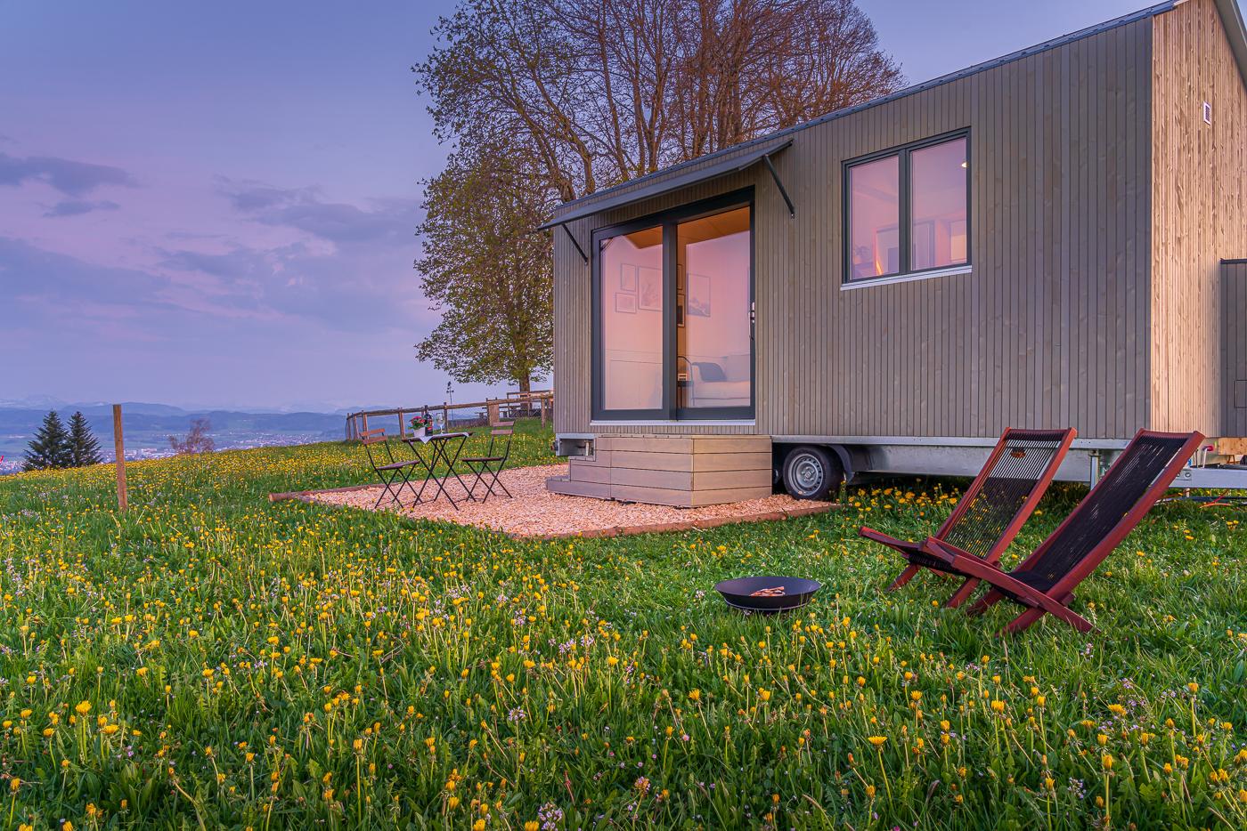 Tiny House auf dem Nollen im Kanton Thurgau