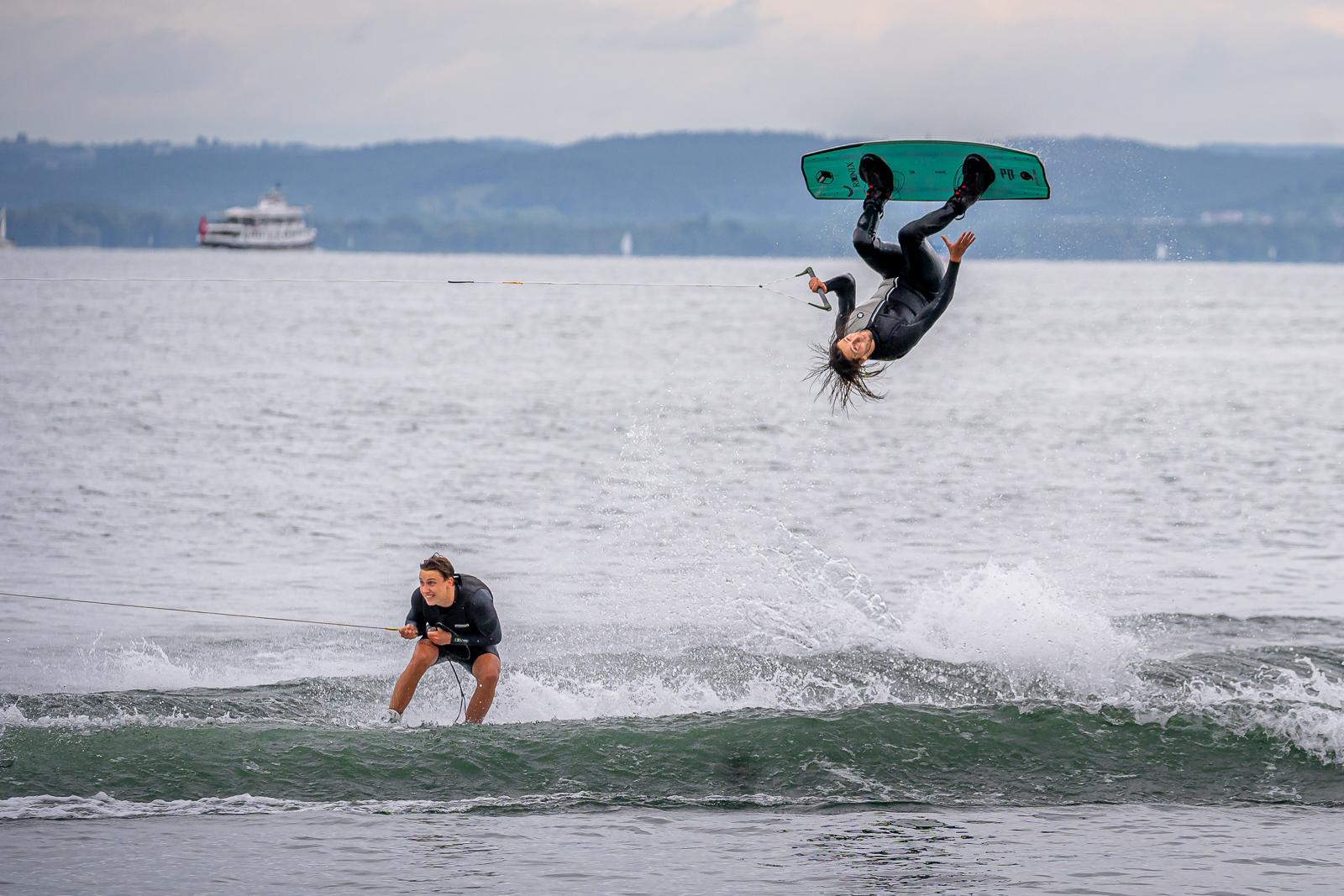 Strandfestwochen Rorschach 2021 - Wakeboardshow