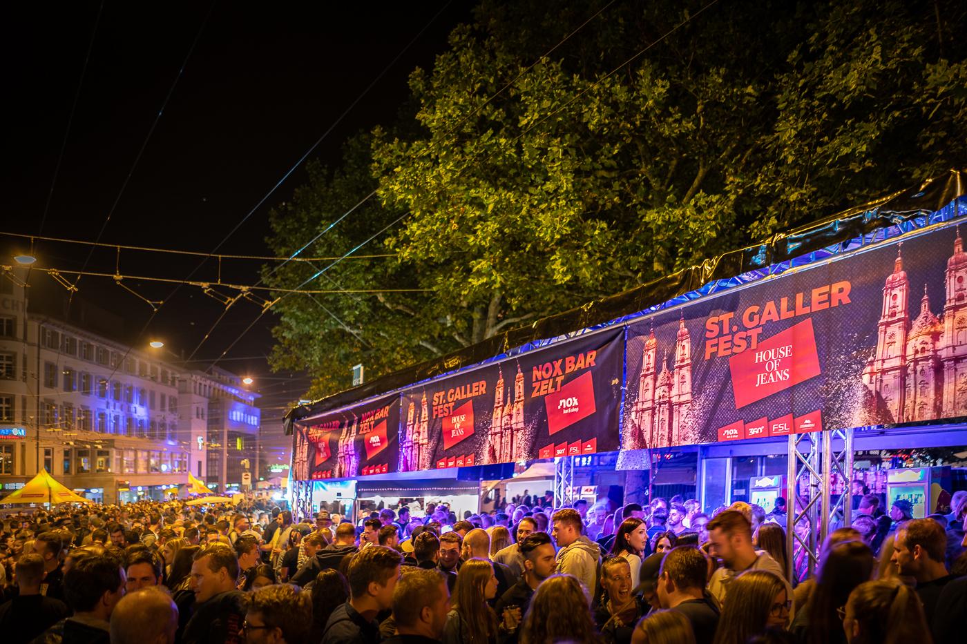 St. Galler Fest, NOX-Bar