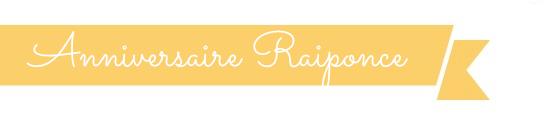 anniversaire fille raiponce rapunzel
