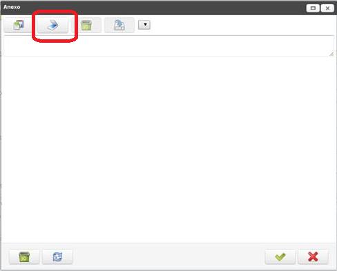 添付ファイルのアイコンのポップアップウインドウ