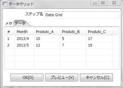 データグリッド